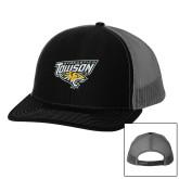 Richardson Black/Charcoal Trucker Hat-Gymnastics