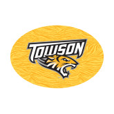 Small Magnet-Towson Yellow Tiger Stripe, 6 inches Wide