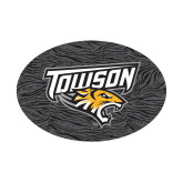 Small Magnet-Towson Charcoal Tiger Stripe, 6 inches Wide