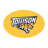 Medium Magnet-Towson Yellow Tiger Stripe, 8 inches Wide