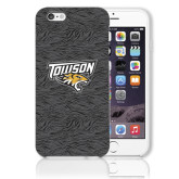 iPhone 6 Plus Phone Case-Towson Charcoal Tiger Stripe