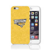 iPhone 6 Phone Case-Towson Yellow Tiger Stripe