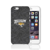 iPhone 6 Phone Case-Towson Charcoal Tiger Stripe