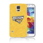 Galaxy S5 Phone Case-Towson Yellow Tiger Stripe