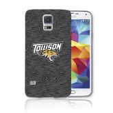 Galaxy S5 Phone Case-Towson Charcoal Tiger Stripe