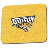 Full Color Mousepad-Towson Yellow Tiger Stripe