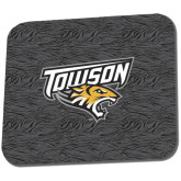 Full Color Mousepad-Towson Charcoal Tiger Stripe