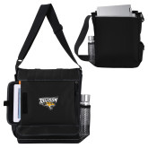 Impact Vertical Black Computer Messenger Bag-Official Logo