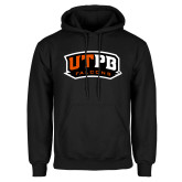 Black Fleece Hoodie-UTPB Falcons