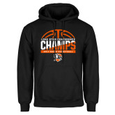 Black Fleece Hoodie-2017 Lone Star Conference Champs - Mens Basketball