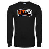 Black Long Sleeve TShirt-UTPB Falcons