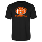 Performance Black Tee-UT Permian Basin Arched w/ Full Ball