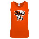 Orange Tank Top-Official Logo