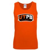 Orange Tank Top-UTPB Falcons