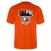 Performance Orange Tee-Official Logo