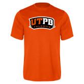 Performance Orange Tee-UTPB Falcons