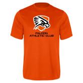 Performance Orange Tee-Falcon Athletic Club