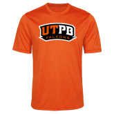 Performance Orange Heather Contender Tee-UTPB Falcons