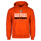 Orange Fleece Hoodie-UT Permian Basin Basketball Repeating