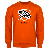 Orange Fleece Crew-Dad