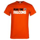 Orange T Shirt-Fear The Falcons