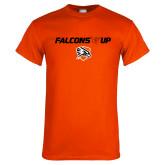 Orange T Shirt-Falcons Up