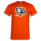 Orange T Shirt-Falcon Shield