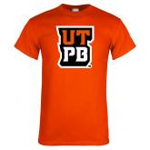 Orange T Shirt-UTPB Stacked