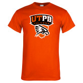 Orange T Shirt-Official Logo Distressed