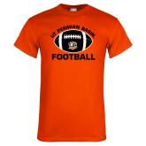Orange T Shirt-UT Permian Basin Arched w/ Full Ball