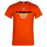 Orange T Shirt-UT Permian Basin Basketball w/Net Icon