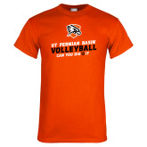 Orange T Shirt-Volleyball Can You Dig It
