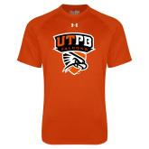 Under Armour Orange Tech Tee-Official Logo