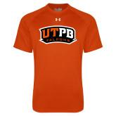 Under Armour Orange Tech Tee-UTPB Falcons