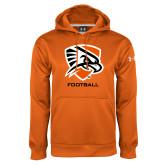 Under Armour Orange Performance Sweats Team Hoodie-Football