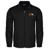 Full Zip Black Wind Jacket-UTPB Falcons