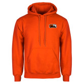 Orange Fleece Hoodie-UTPB Falcons