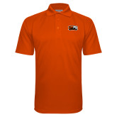 Orange Textured Saddle Shoulder Polo-UTPB Falcons