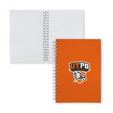 Clear 7 x 10 Spiral Journal Notebook-Official Logo