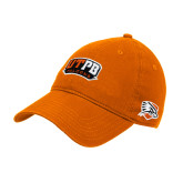 Orange Twill Unstructured Low Profile Hat-UTPB Falcons