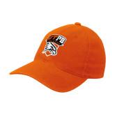 Orange OttoFlex Unstructured Low Profile Hat-Official Logo