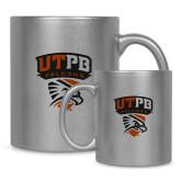 Full Color Silver Metallic Mug 11oz-Official Logo