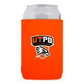 Collapsible Orange Can Holder-Official Logo