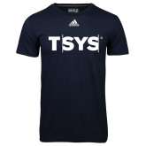 Adidas Climalite Navy Ultimate Performance Tee-TSYS