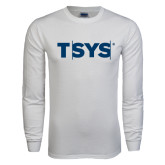 White Long Sleeve T Shirt-TSYS