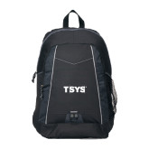 Impulse Black Backpack-TSYS