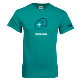 Teal T Shirt-Relationships Icon
