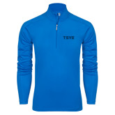 Syntrel Royal Blue Interlock 1/4 Zip-TSYS