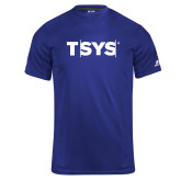 Russell Core Performance Royal Tee-TSYS