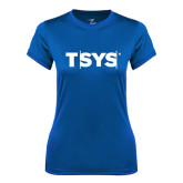 Ladies Syntrel Performance Royal Tee-TSYS